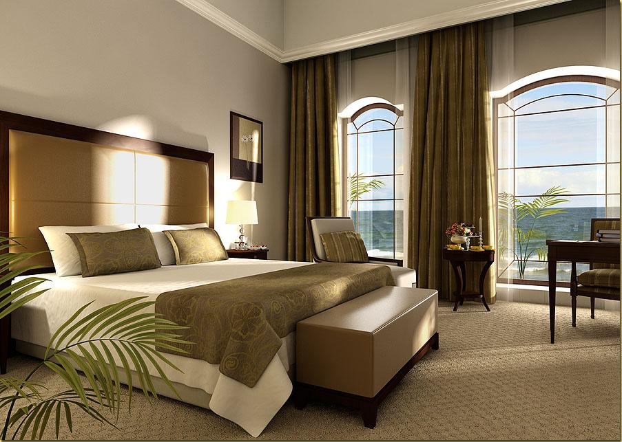 غرفة نوم فندق 44 – العقيل للأثاث